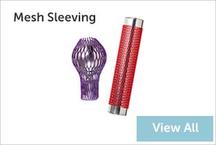 mesh sleeving banner