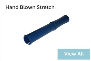 hand blown stretch